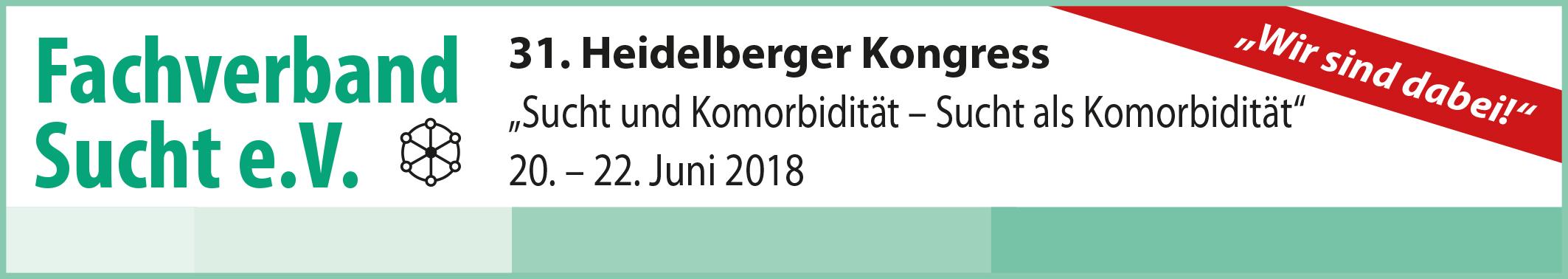 31. Heidelberger Kongress vom 20.-22. Juni 2018